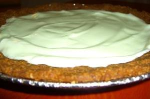 Yogurt Key Lime Pie