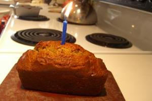 Birthday Banana Bread