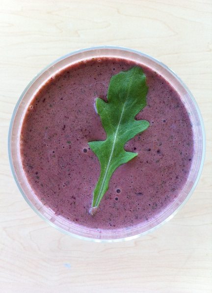 Greens are great in smoothies!