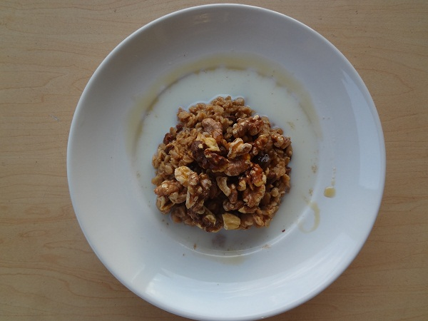 Plump raisins, nutty walnuts, good times