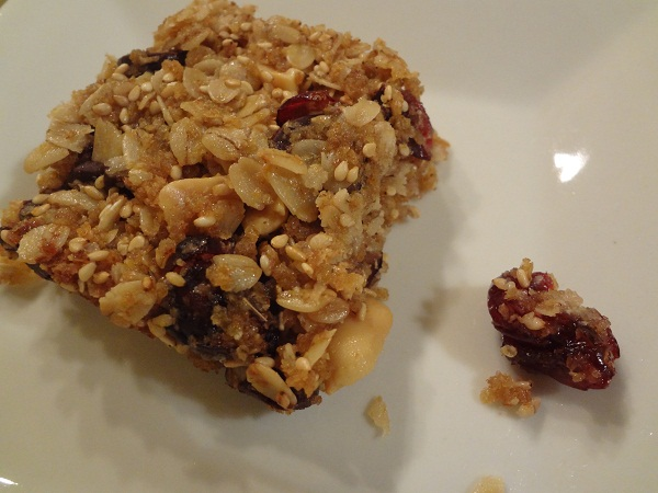 This isn't your average granola bar...