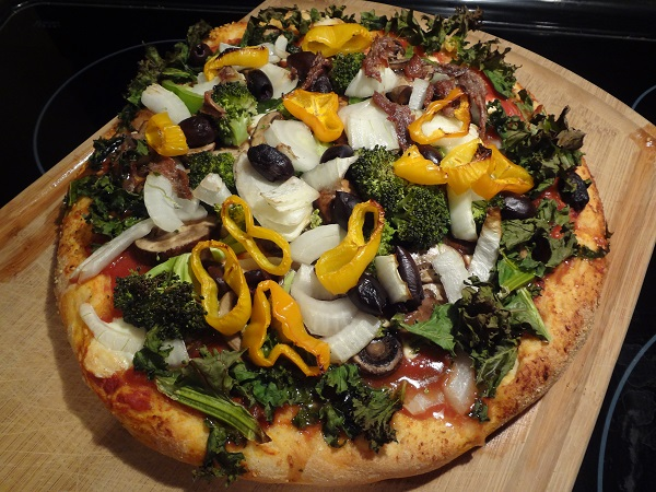 Veggie Mountain Pizza