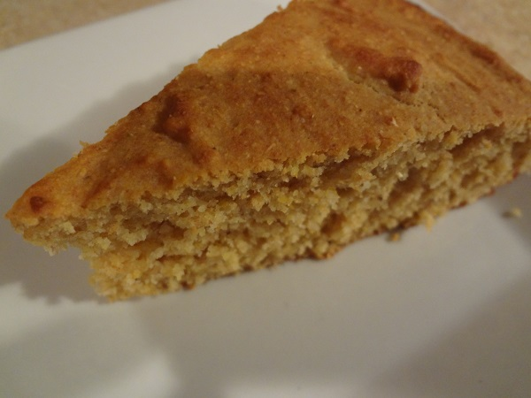 Moist, hardy cornbread that warms the soul- when served with Bourbon Pork Chili