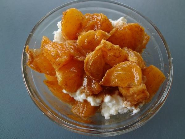 Cinnamon-Sugar Tangerine Parfait