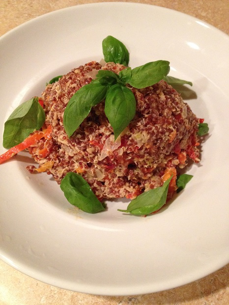 Quinoa with a Thai twist