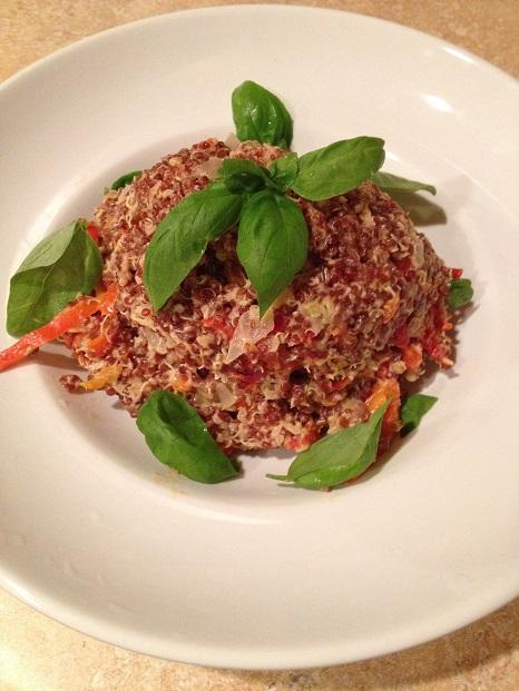 Quinoa with a Thai twist