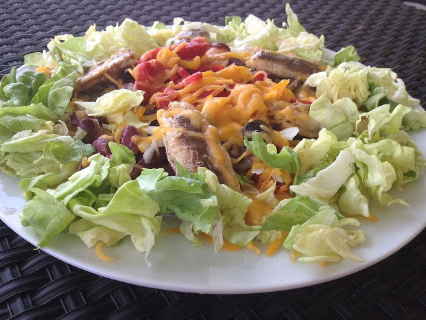 Sardines, not your typical nacho topping...but it totally works!