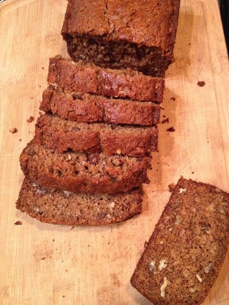 Whole Wheat Banana Flax Bread