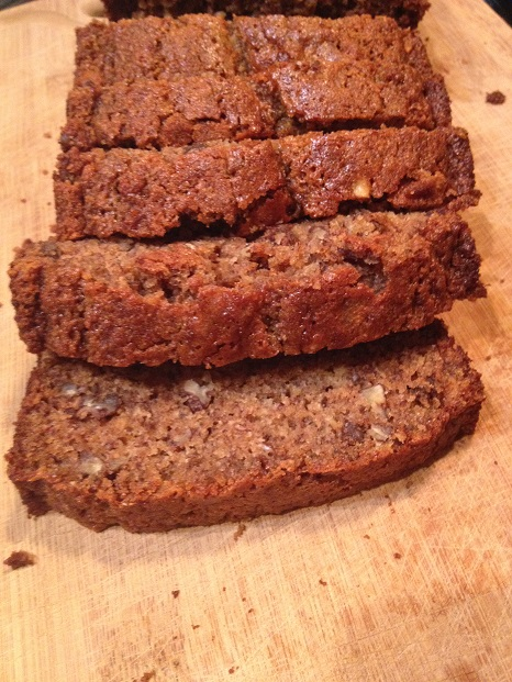 Mission accomplished- My best banana bread ever!